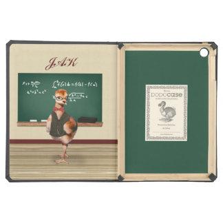Baby Sandhill Crane as a Teacher, Monogram iPad Air Case