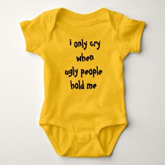 baby says baby bodysuit