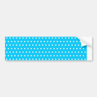 baby scores blue dots (several products selected) bumper sticker