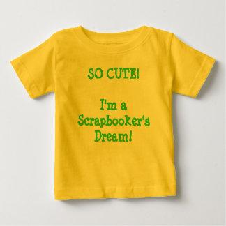Baby Scrapbooker Baby T-Shirt