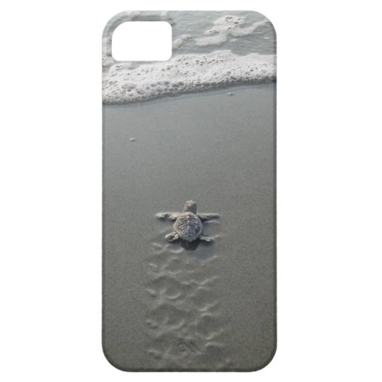 Baby Sea Turtle Barely There iPhone 5 case