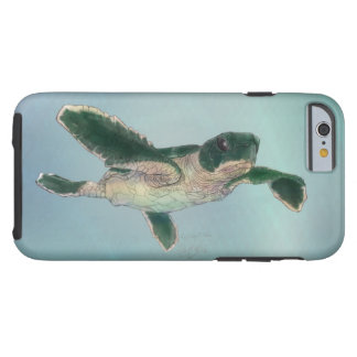 Baby Sea Turtle Tough iPhone 6 Case