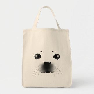 Baby Seal Canvas Bag