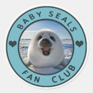 Baby Seal Fan Club stickers