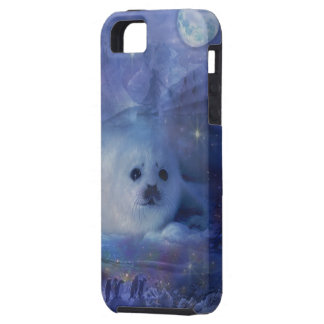 Baby Seal on Ice - Beautiful Seascape iPhone 5 Case