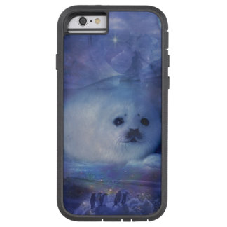 Baby Seal on Ice - Beautiful Seascape Tough Xtreme iPhone 6 Case