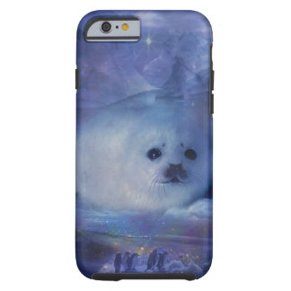 Baby Seal on Ice - Beautiful Seascape Tough iPhone 6 Case