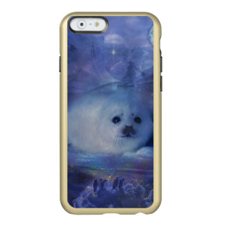 Baby Seal on Ice - Beautiful Seascape Incipio Feather® Shine iPhone 6 Case