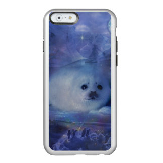 Baby Seal on Ice - Beautiful Seascape Incipio Feather® Shine iPhone 6 Case