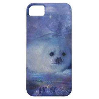 Baby Seal on Ice - Beautiful Seascape iPhone 5 Cover