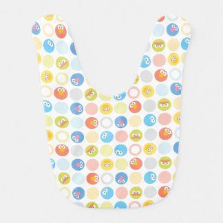 Baby Sesame Street Character Shape Pattern Bib