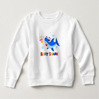 Baby Shark Toddler Fleece Sweatshirt