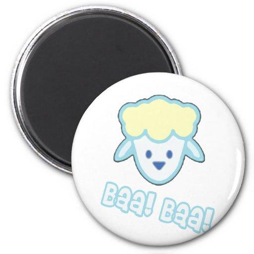 Baby Sheep Cartoon Refrigerator Magnets