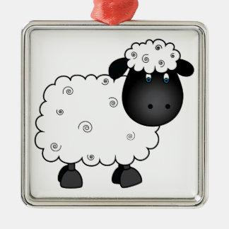Baby Sheep For Ewe Christmas Ornament