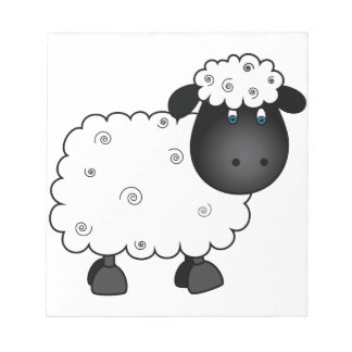 Baby Sheep For Ewe Notepad
