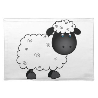 Baby Sheep For Ewe Placemat