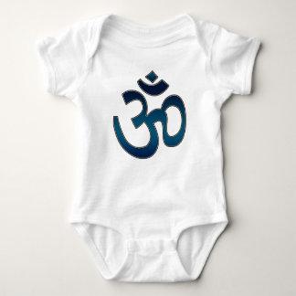 Baby Shirt, Ohm Symbol, Blue Baby Bodysuit