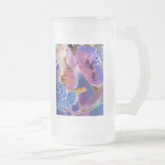 Baby Shoe Art II Frosted Glass Mug