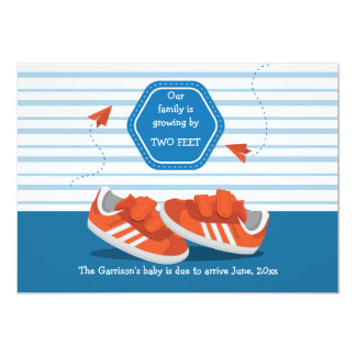 Baby Shoes Pregnancy Announcement