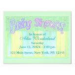 Baby Shower 11 Cm X 14 Cm Invitation Card