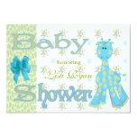 Baby Shower 13 Cm X 18 Cm Invitation Card
