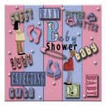 Baby Shower 1Poster Print