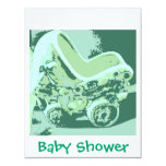Baby Shower 4.25x5.5 Paper Invitation Card