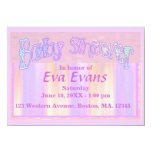 "Baby Shower 4.5"" X 6.25"" Invitation Card"