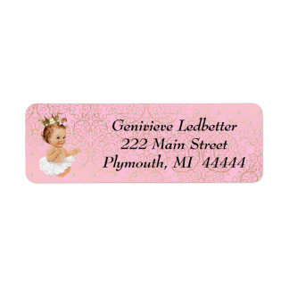 Baby Shower Address Label