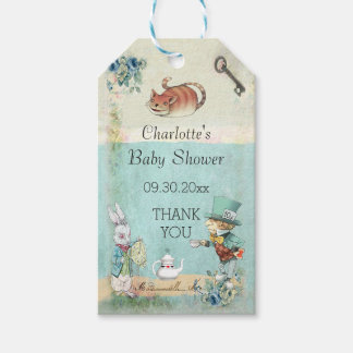 baby shower thank you gift tags
