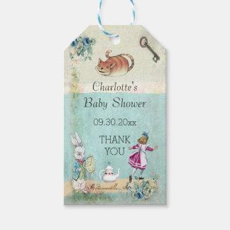 Baby Shower Alice in Wonderland Thank You