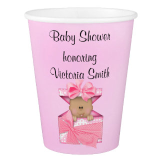 Baby Shower Baby Girl Ethnic Paper Cup