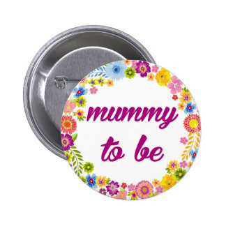 Baby Shower Badge - Mummy to be