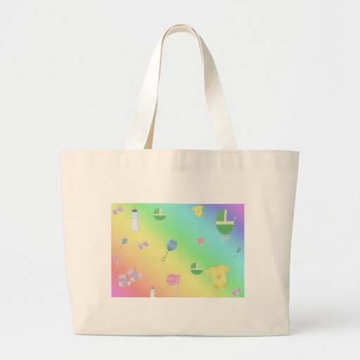 BABY SHOWER CANVAS BAG