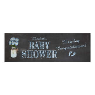 Baby Shower Banner Poster