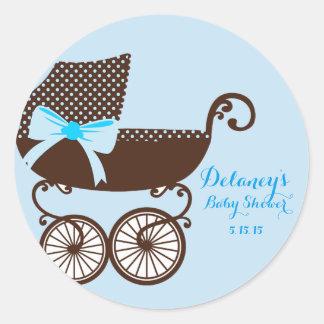Baby Shower Boy Stickers
