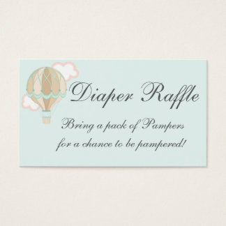 baby shower business card