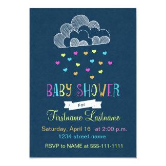 Baby Shower Cloud of Love 13 Cm X 18 Cm Invitation Card
