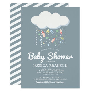 Baby Shower Cute Unisex Gender Neutral Card