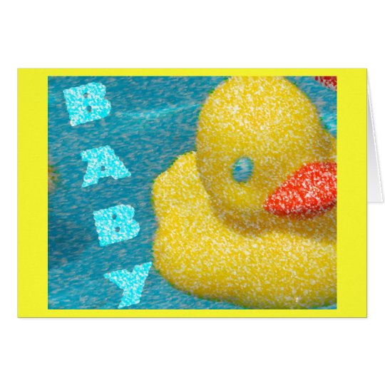Baby Shower Ducky Card