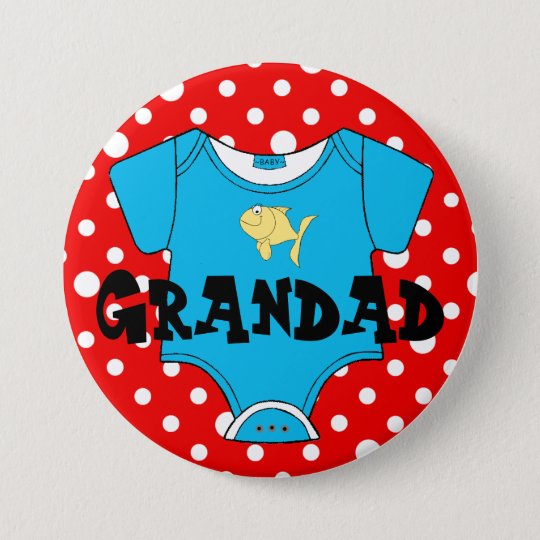 Baby Shower Family Names- Favour 7.5 Cm Round Badge