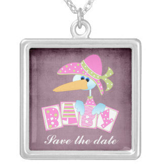 Baby Shower Gift 2 Necklace