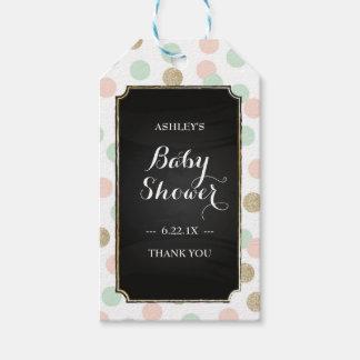 Baby Shower Gift Tags - Polka Dots