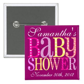 Baby Shower (Girly) Pin
