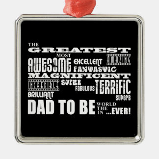 Baby Shower Greatest Best Future Fathers Dad to Be Christmas Ornament