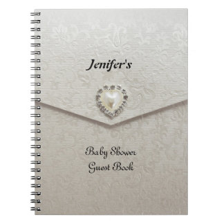 Baby Shower Guest Book Notebook
