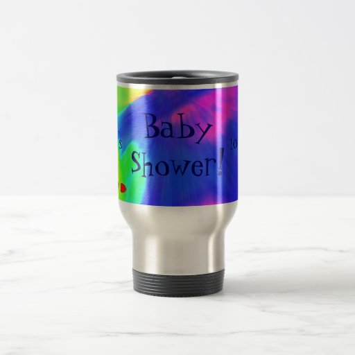 """""""Baby Shower III"""" Mug - Customizable Mugs"""
