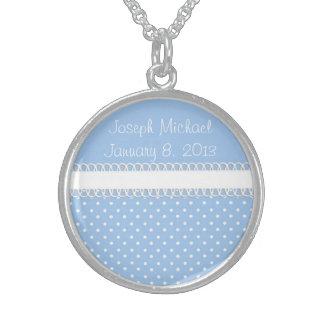 Baby Shower in Blue Custom Jewelry