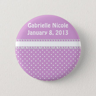 Baby Shower in Pink 6 Cm Round Badge