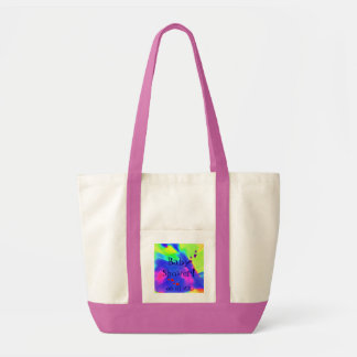 Baby Shower In Pink And White I Impulse Tote Bag